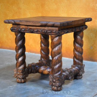 Spanish revival end table